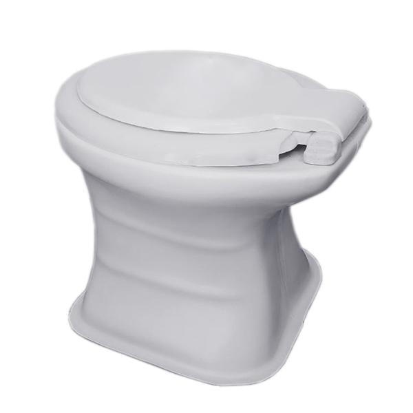 توالت فرنگی فایبر گلاس کمر باریک