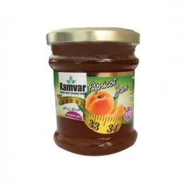 مربای رژیمی و بدون شکر زردآلو کامور