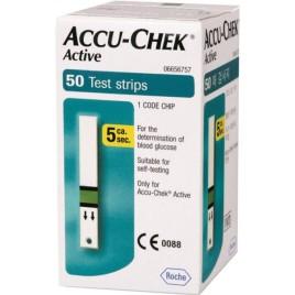 نوارتست قندخون آکیو چک اکتیو مدل Accu Chek-Active