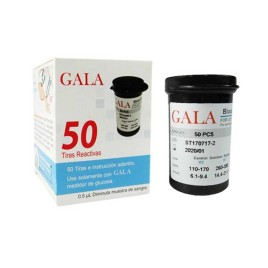 نوار تست قند خون گالا مدل GALA