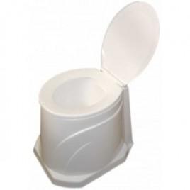 توالت فرنگی پلاستیکی دور پوشیده