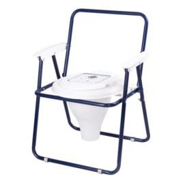 توالت فرنگی مبله تاشو رنگی