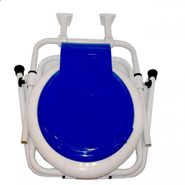 توالت فرنگی دیواری آسانا با قیف تاشو