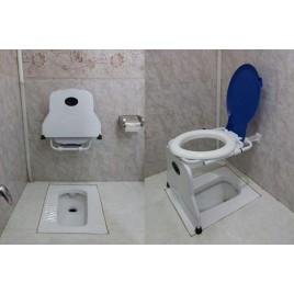 توالت فرنگی تاشو دیواری سینکو