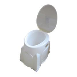 توالت فرنگی پلاستیکی دور پوشیده تیتان