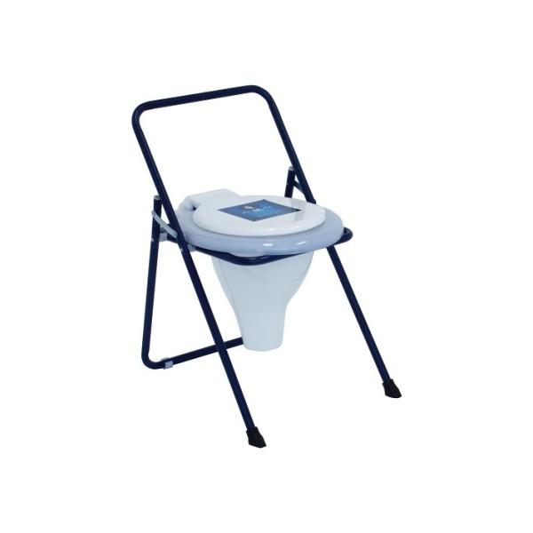توالت فرنگی تاشو رنگی